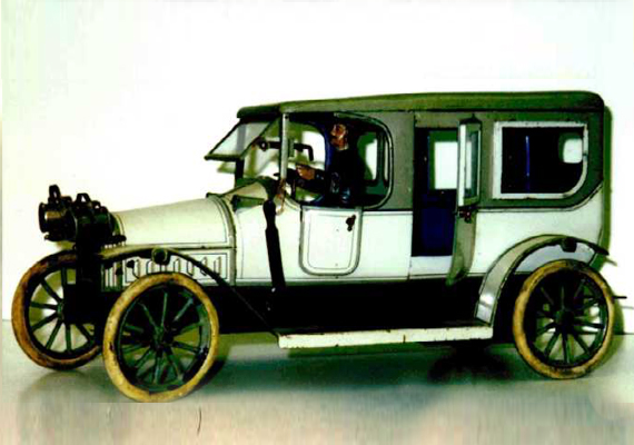 Completed 1914 Karl Bub 14-Inch Limousine